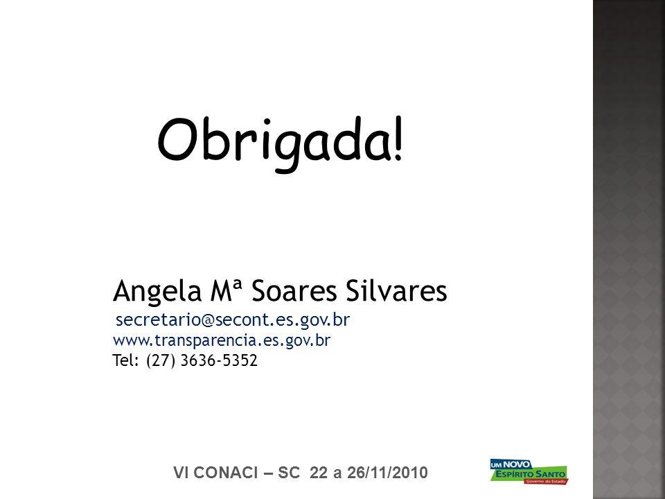 Angela Mª Soares Silvares