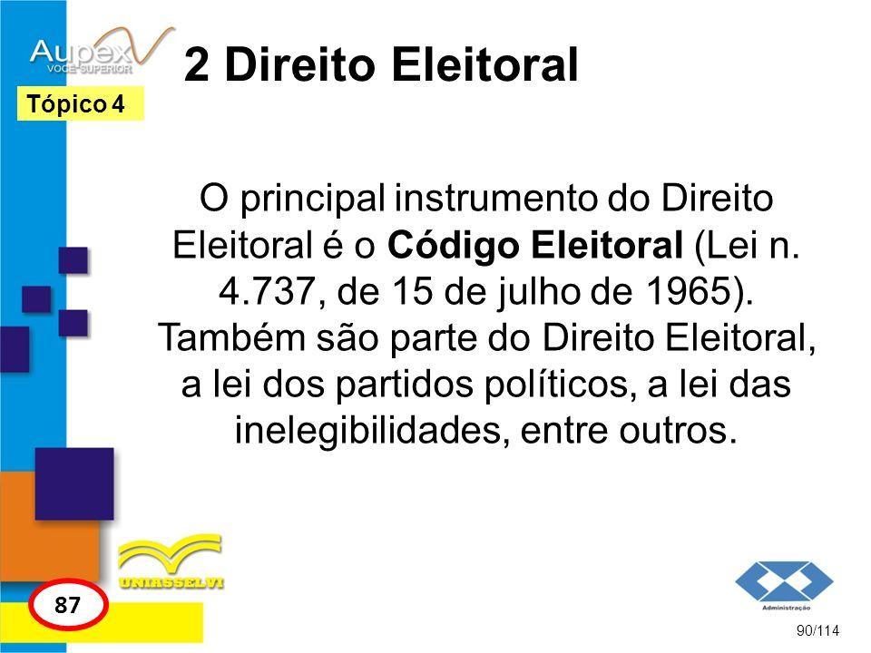 2 Direito Eleitoral Tópico 4.