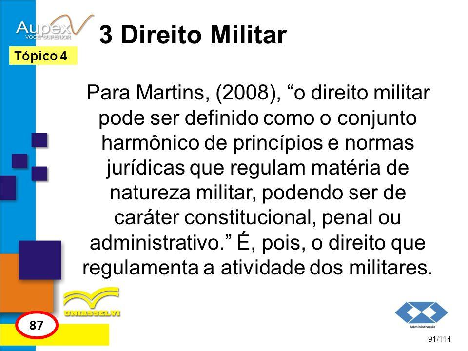 3 Direito Militar Tópico 4.