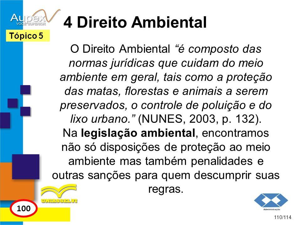 4 Direito Ambiental Tópico 5.
