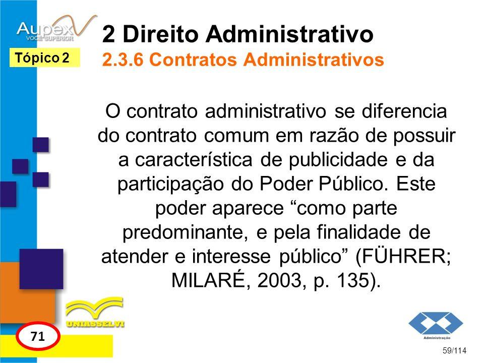 2 Direito Administrativo 2.3.6 Contratos Administrativos