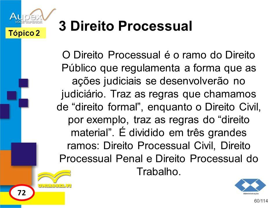 3 Direito Processual Tópico 2.