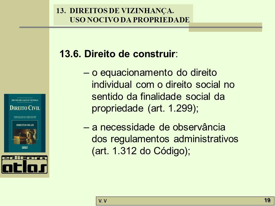 13.6. Direito de construir: