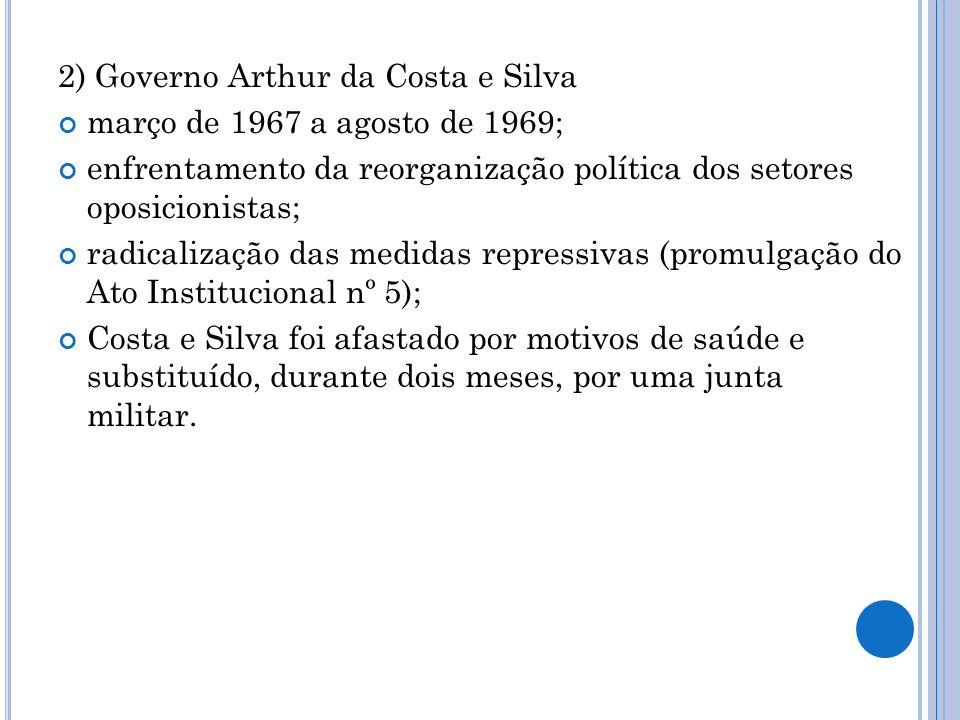 2) Governo Arthur da Costa e Silva
