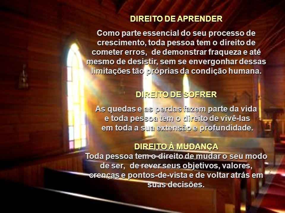 DIREITO DE APRENDER