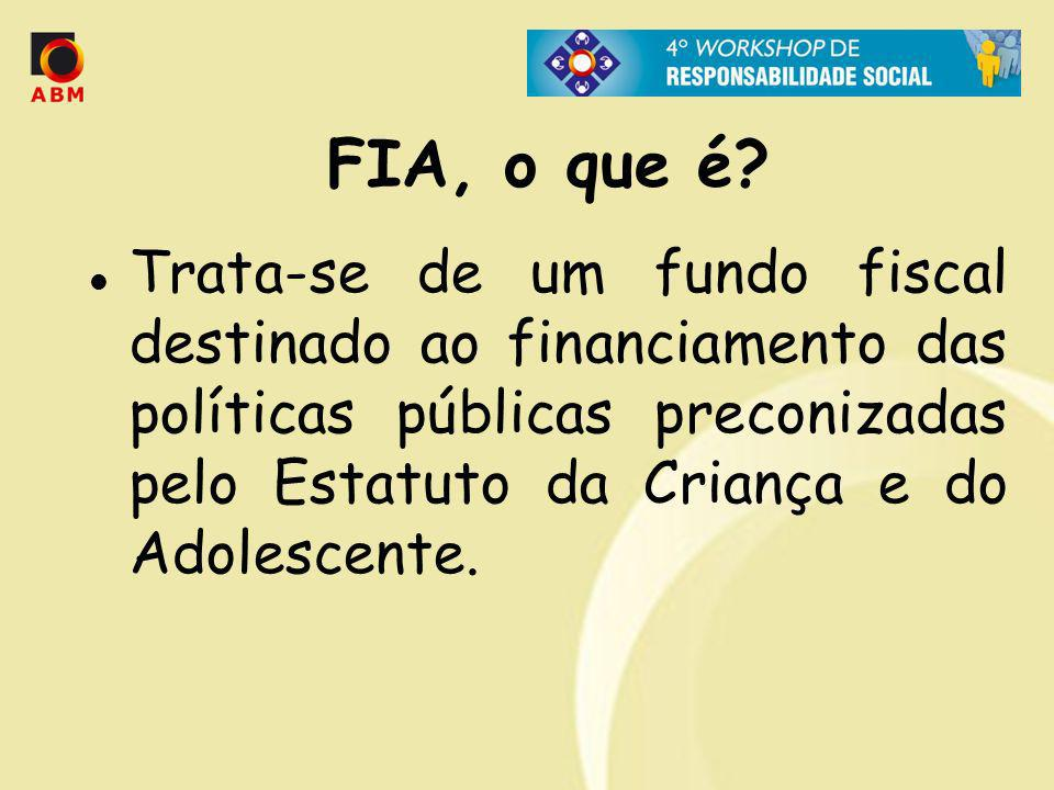 FIA, o que é