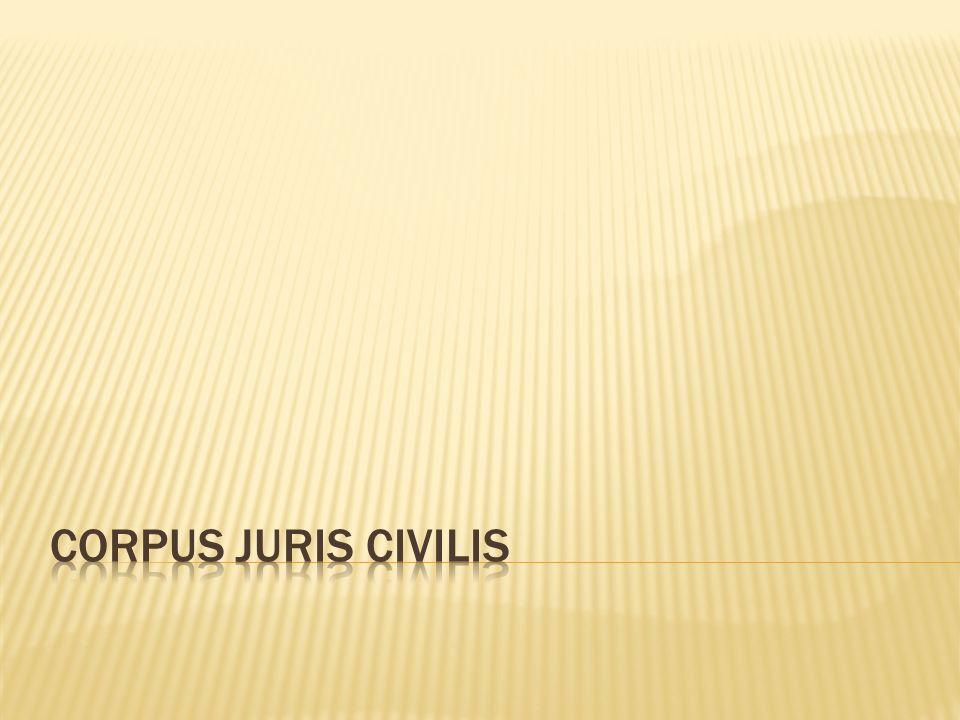 Corpus juris civilis