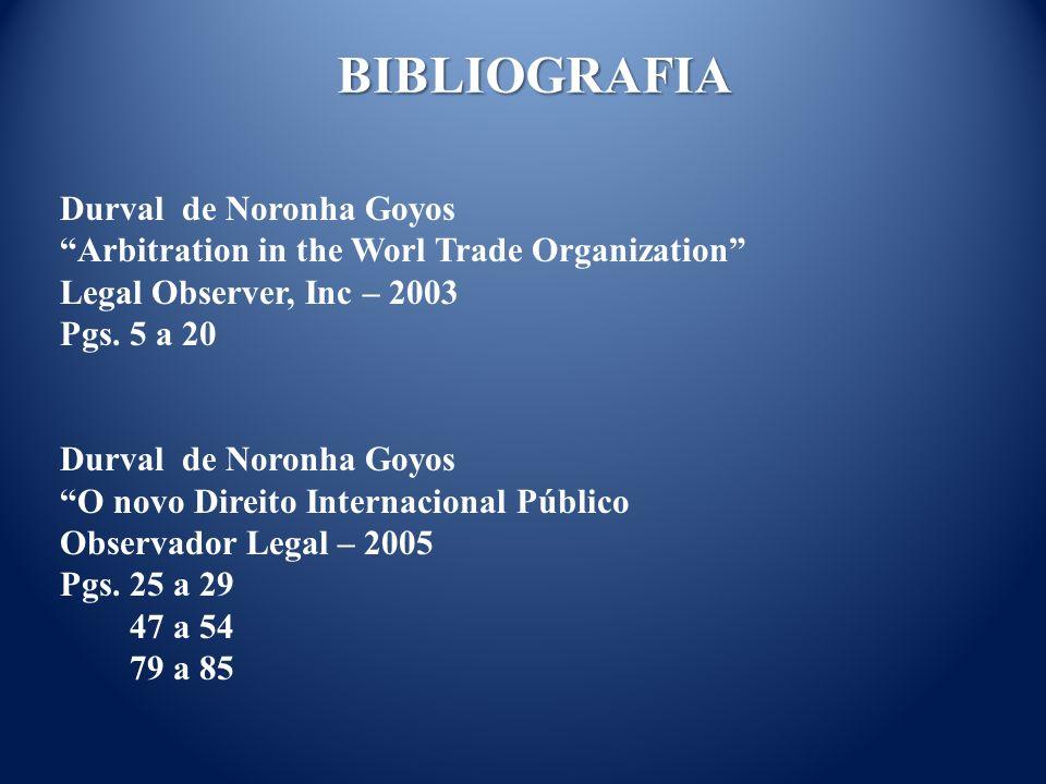BIBLIOGRAFIA Durval de Noronha Goyos