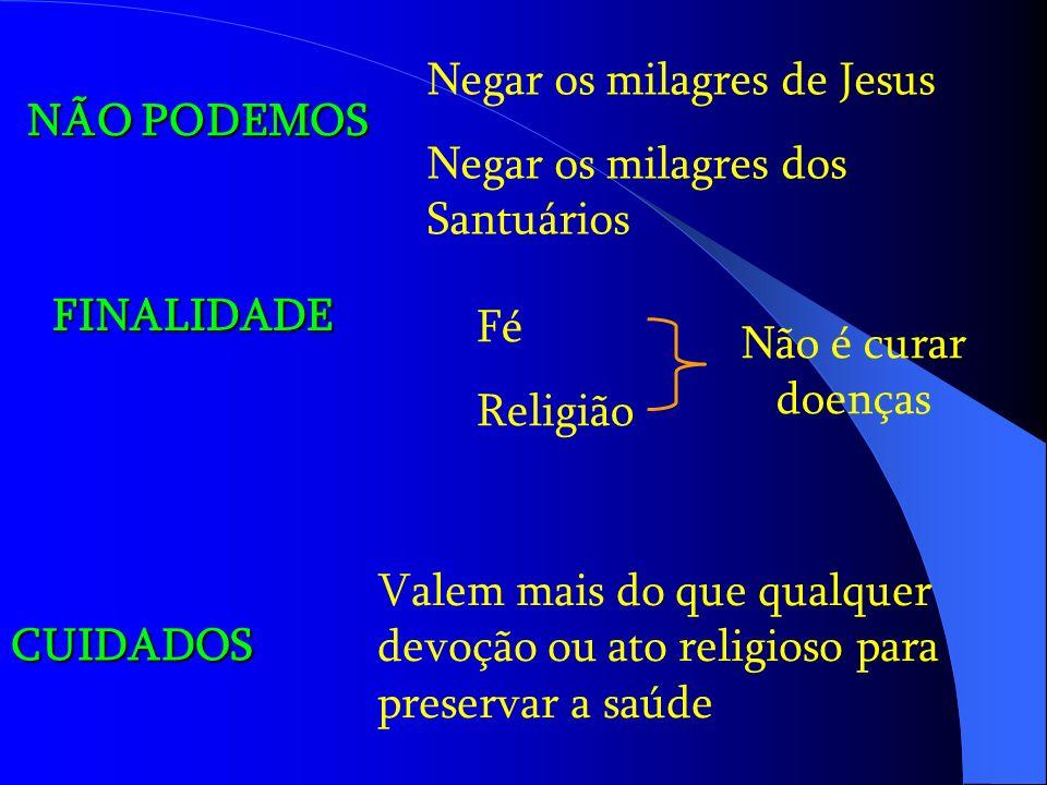 Negar os milagres de Jesus