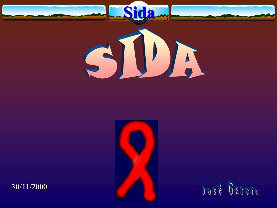 Sida SIDA 30/11/2000 José Garcia