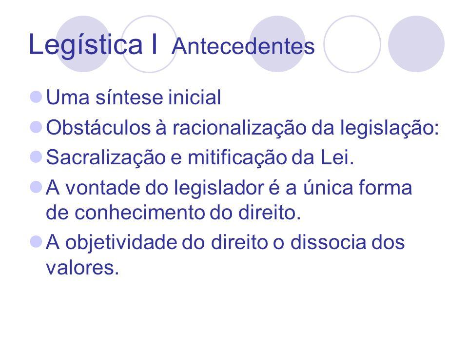 Legística I Antecedentes