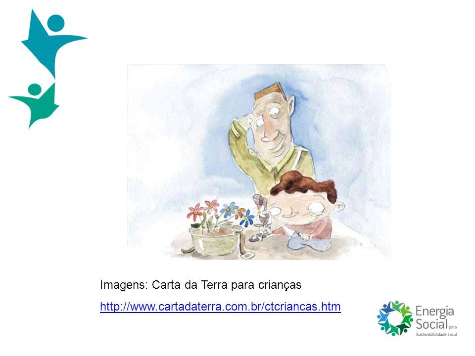 Imagens: Carta da Terra para crianças