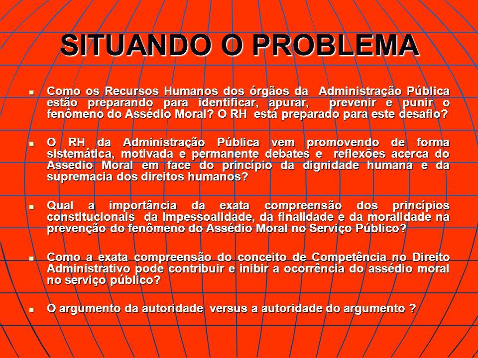 SITUANDO O PROBLEMA