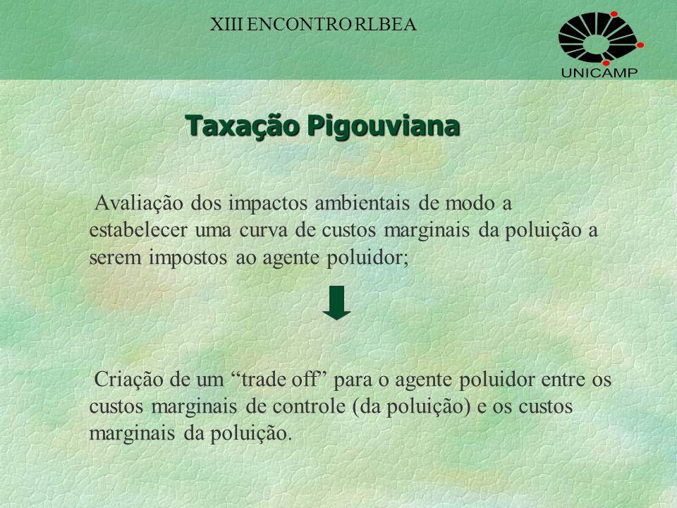 XIII ENCONTRO RLBEA Taxação Pigouviana.