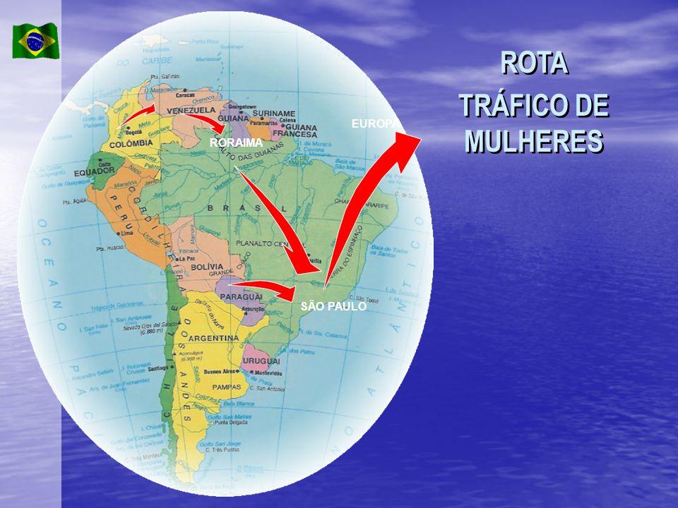 ROTA TRÁFICO DE MULHERES