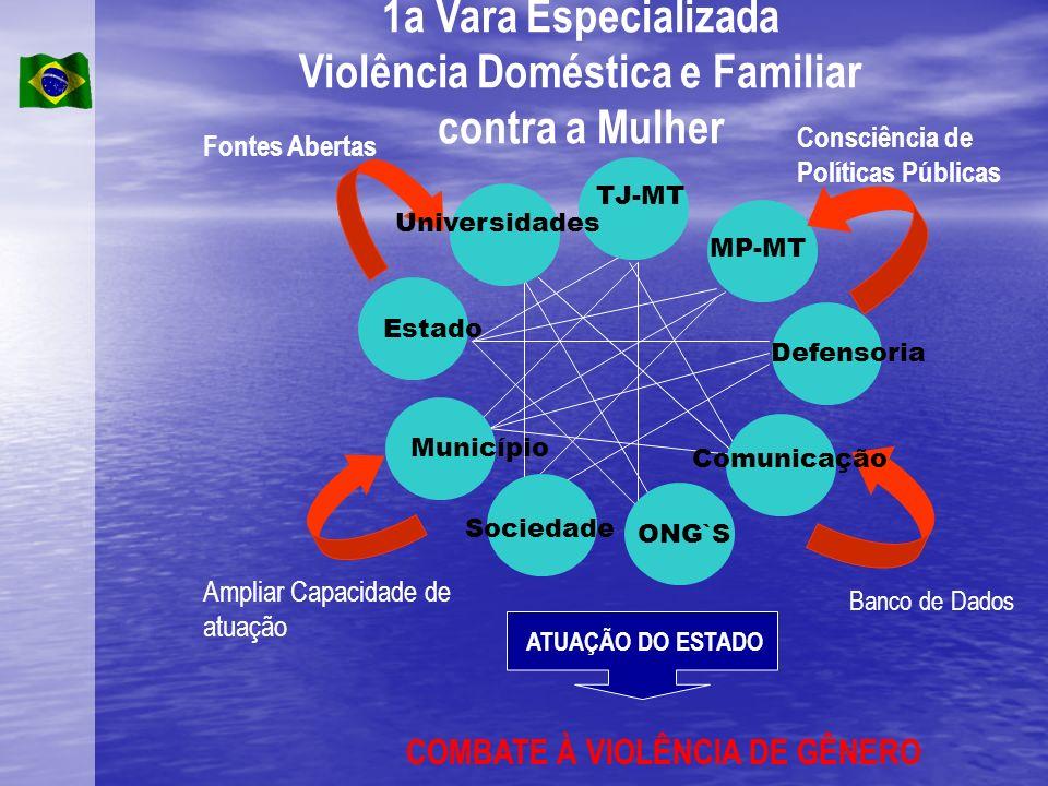 1a Vara Especializada Violência Doméstica e Familiar contra a Mulher