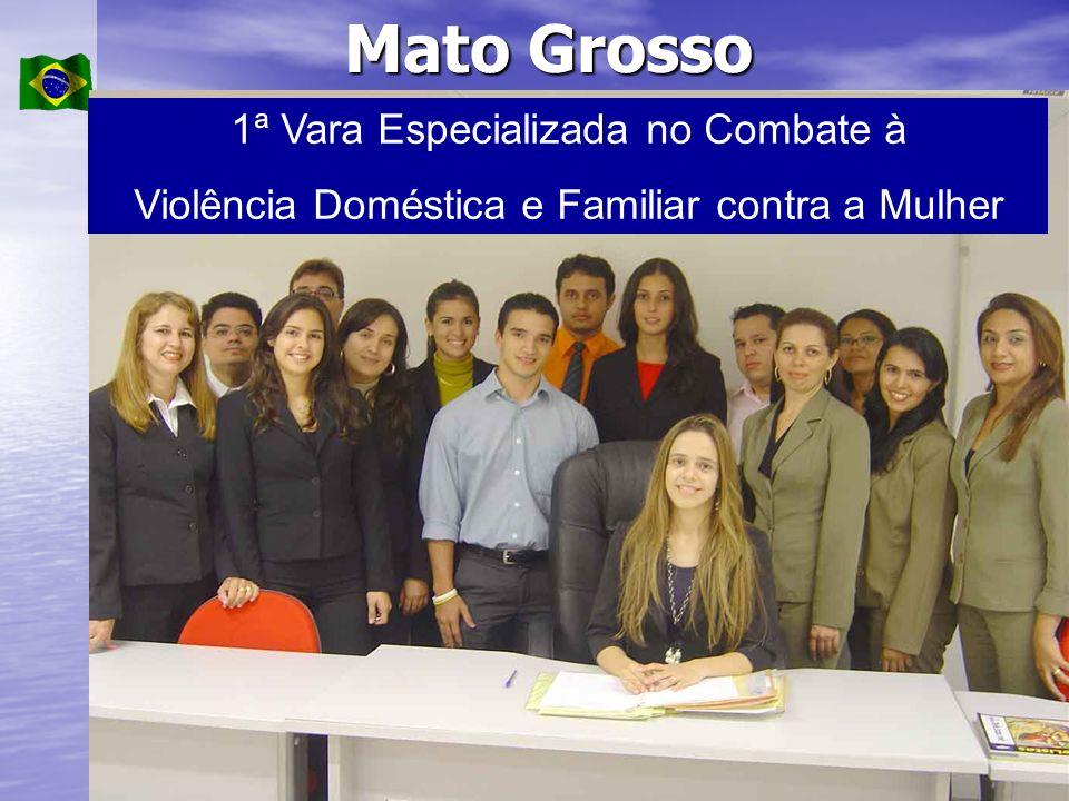 Mato Grosso 1ª Vara Especializada no Combate à