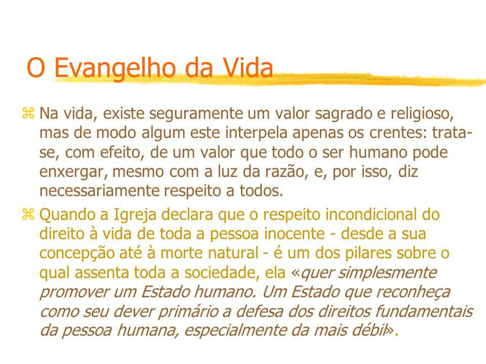 O Evangelho da Vida