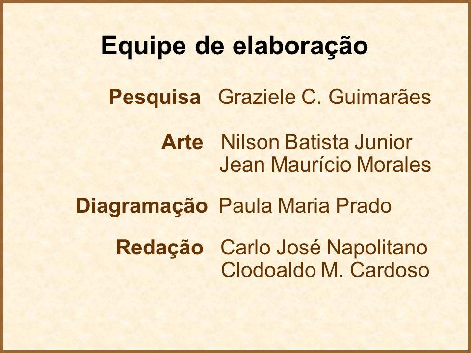 Equipe de elaboração Pesquisa Graziele C. Guimarães