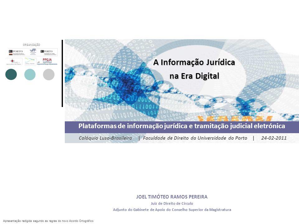 A Informação Jurídica na Era Digital
