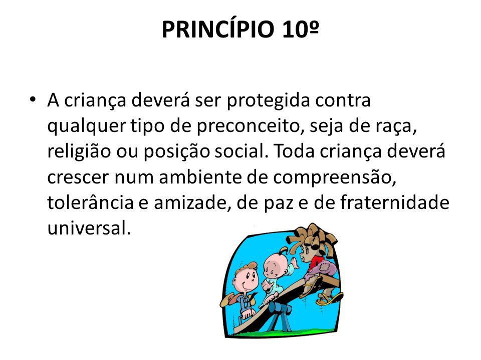 PRINCÍPIO 10º