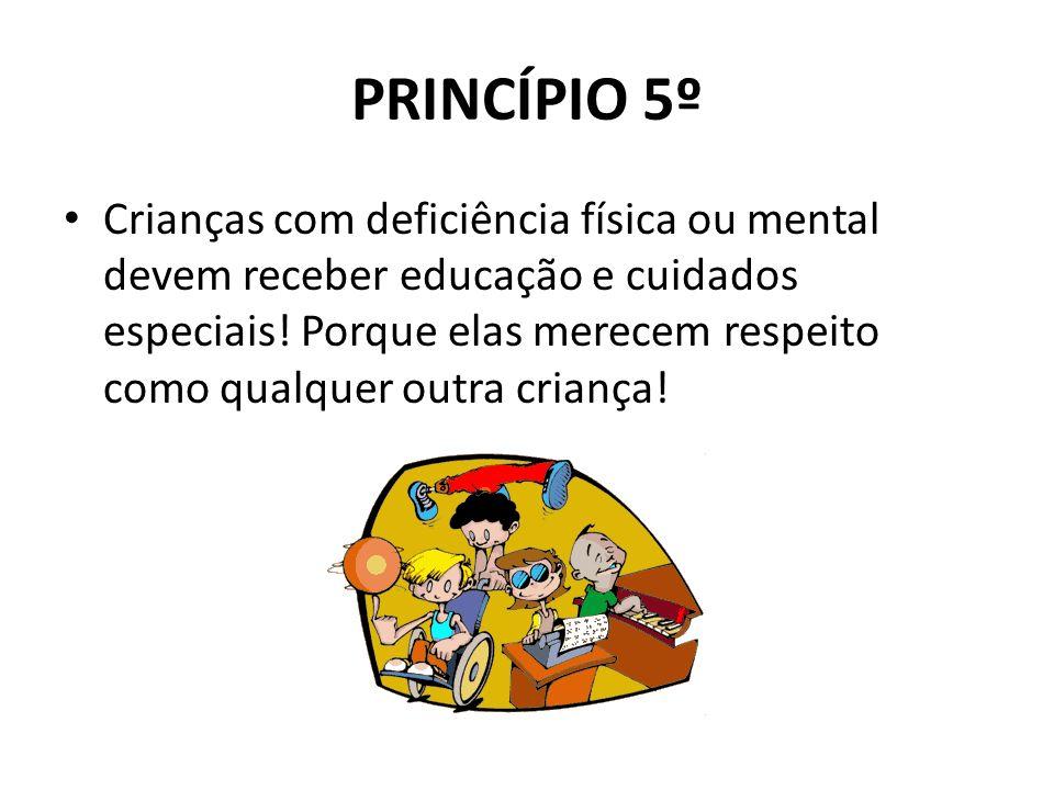 PRINCÍPIO 5º