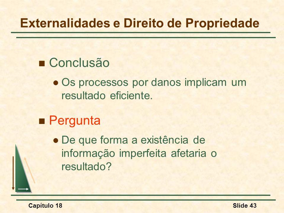 Externalidades e Direito de Propriedade