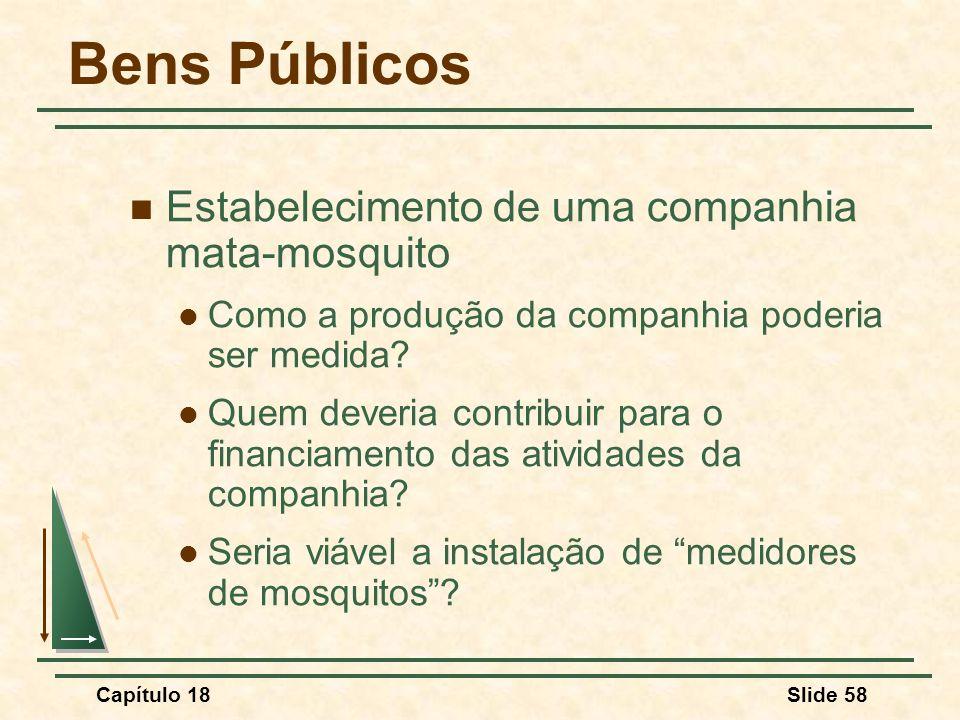 Bens Públicos Estabelecimento de uma companhia mata-mosquito