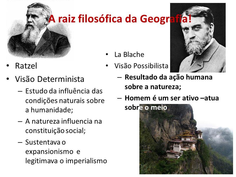 A raiz filosófica da Geografia!