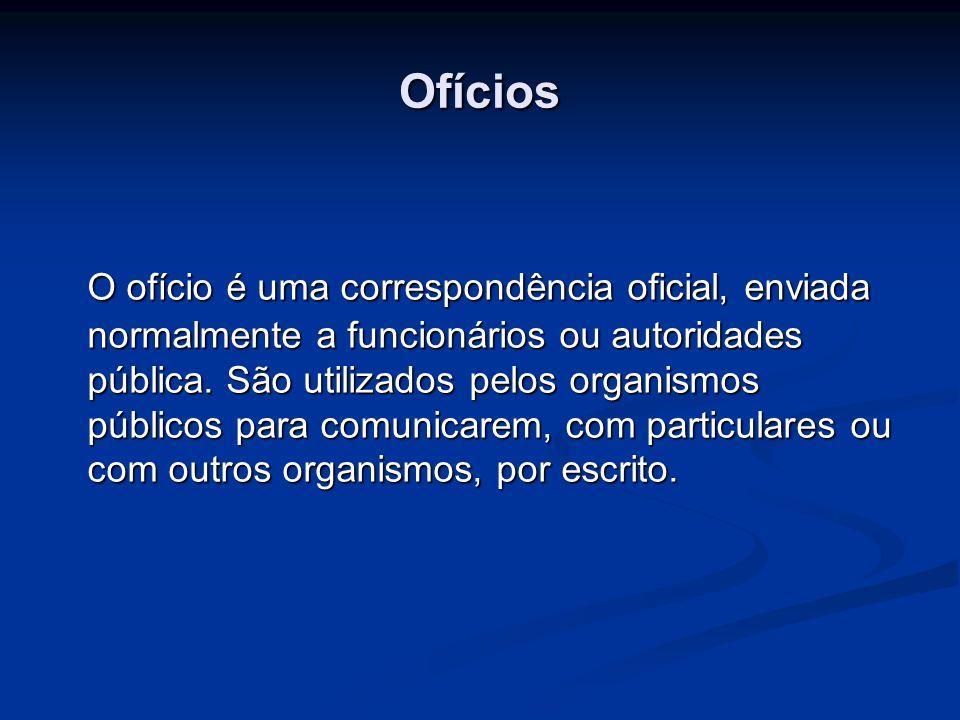 Ofícios