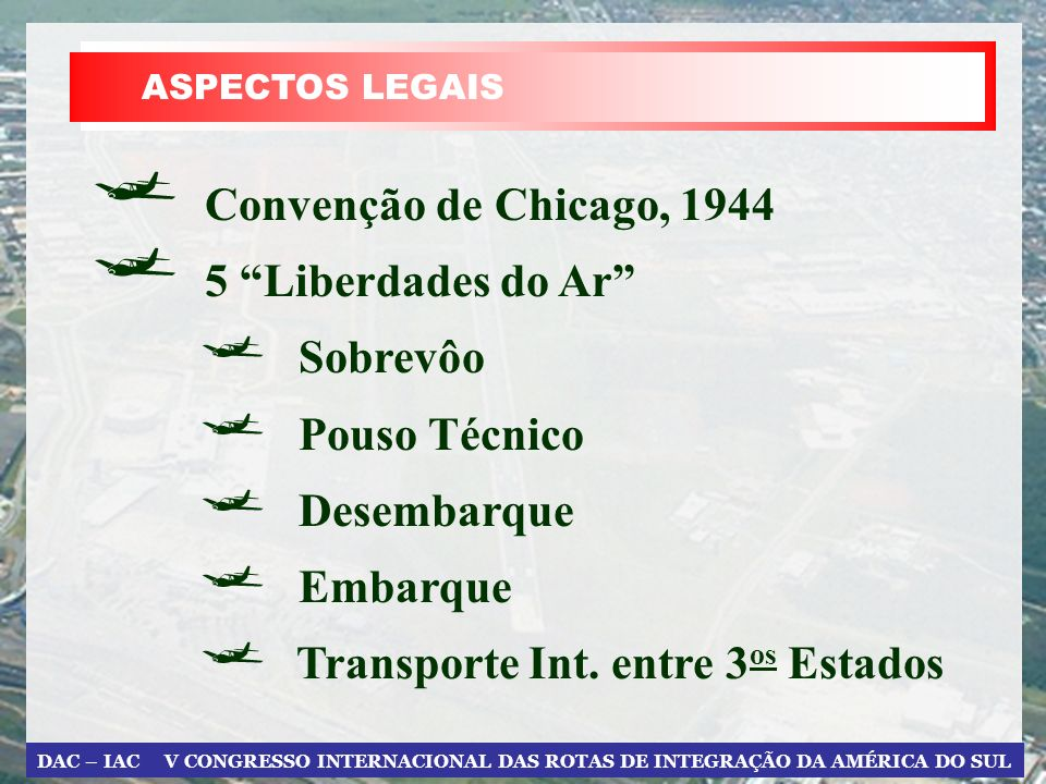 Transporte Int. entre 3os Estados