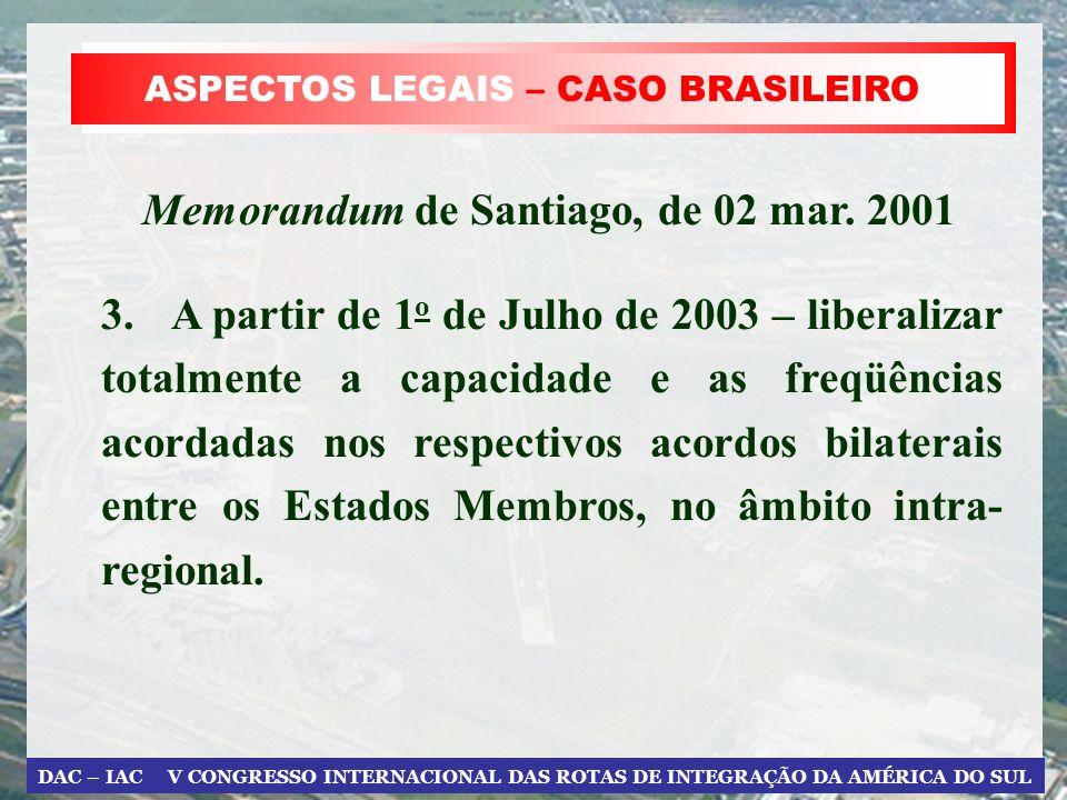 Memorandum de Santiago, de 02 mar. 2001