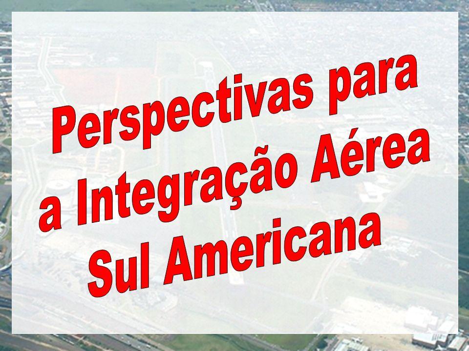 Perspectivas para a Integração Aérea Sul Americana