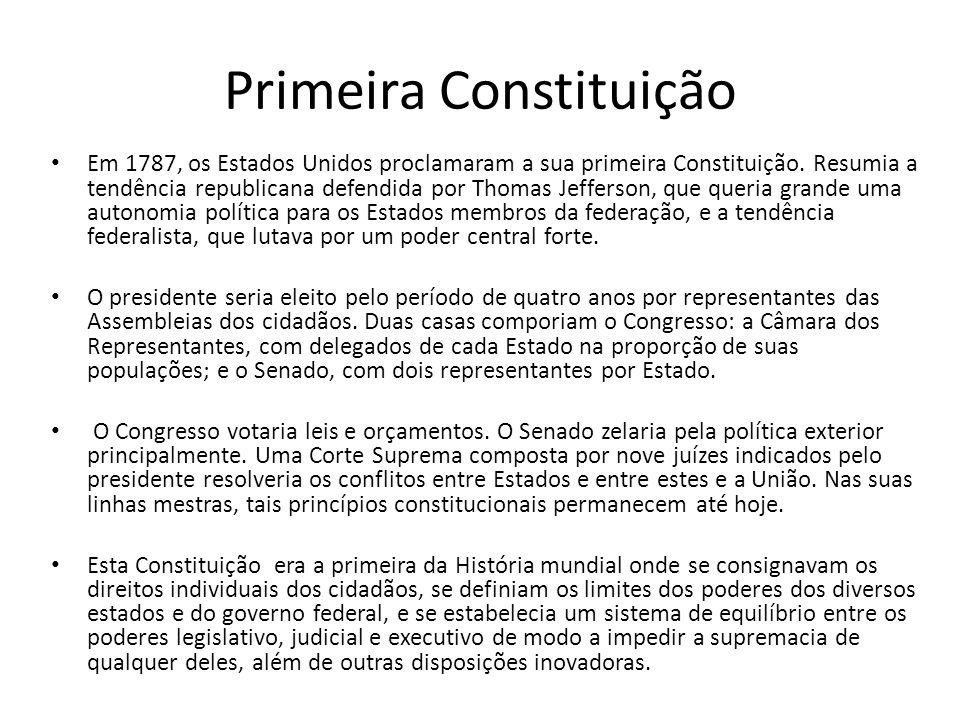 Primeira Constituição