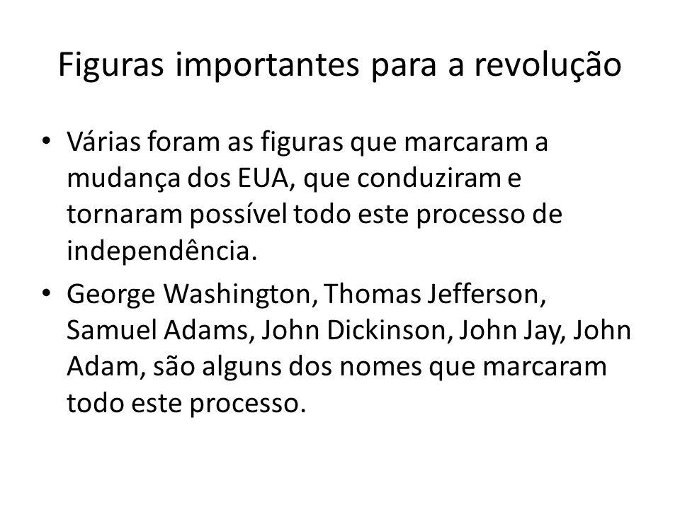 Figuras importantes para a revolução