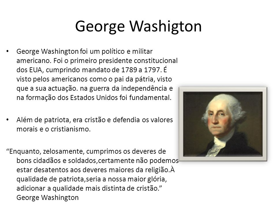 George Washigton
