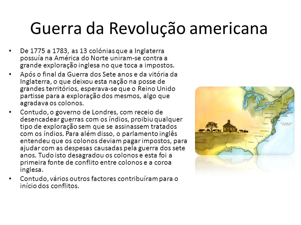 Guerra da Revolução americana
