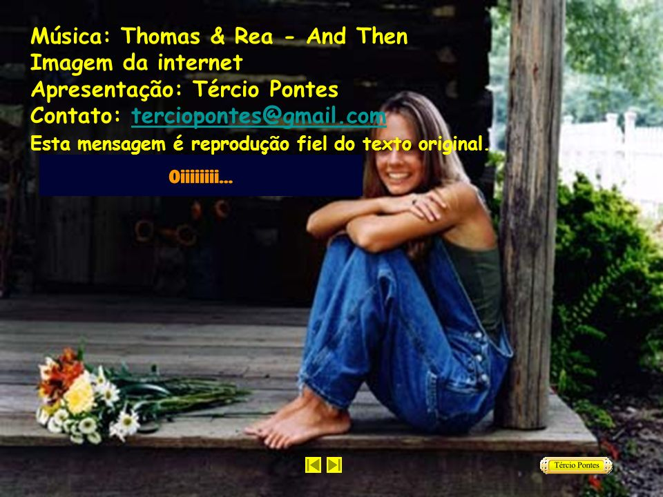 Música: Thomas & Rea - And Then Imagem da internet