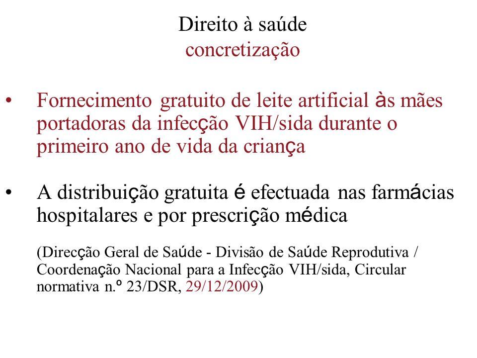 Direito à saúde concretização