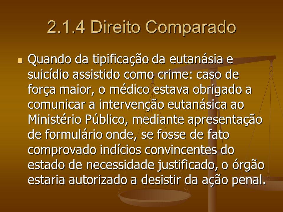 2.1.4 Direito Comparado