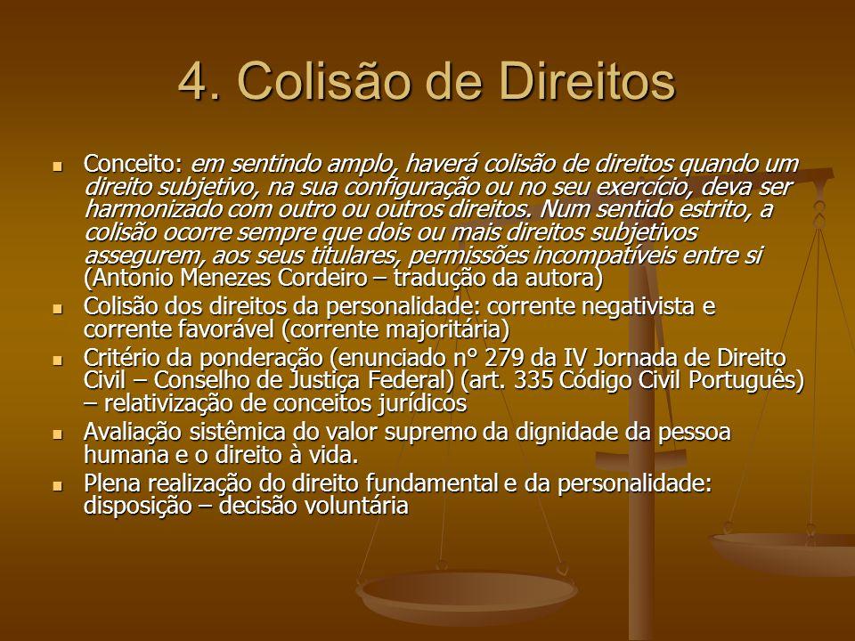 4. Colisão de Direitos