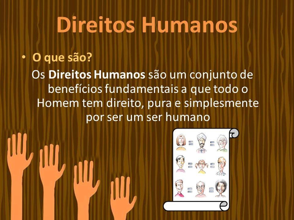Direitos Humanos O que são