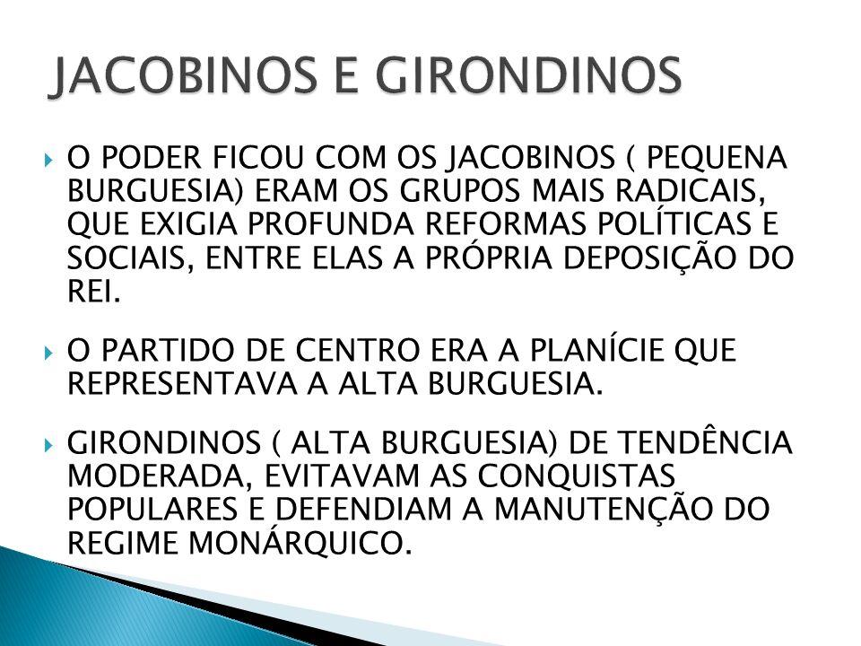 JACOBINOS E GIRONDINOS