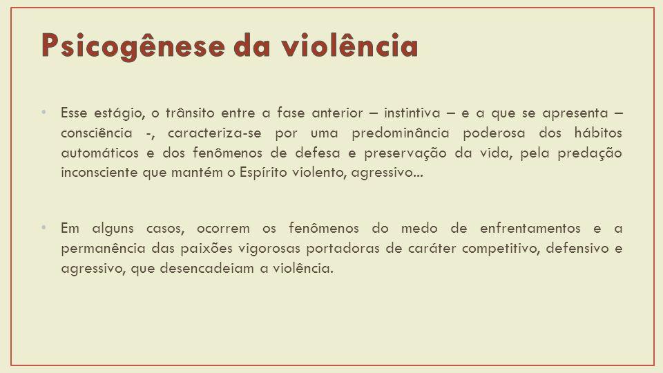 Psicogênese da violência