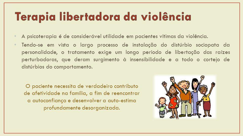 Terapia libertadora da violência