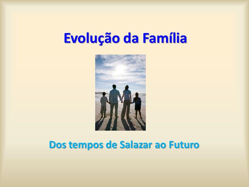 Dos tempos de Salazar ao Futuro