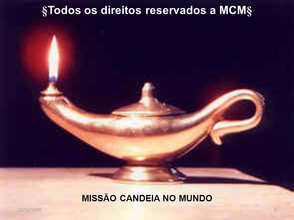 MISSÃO CANDEIA NO MUNDO