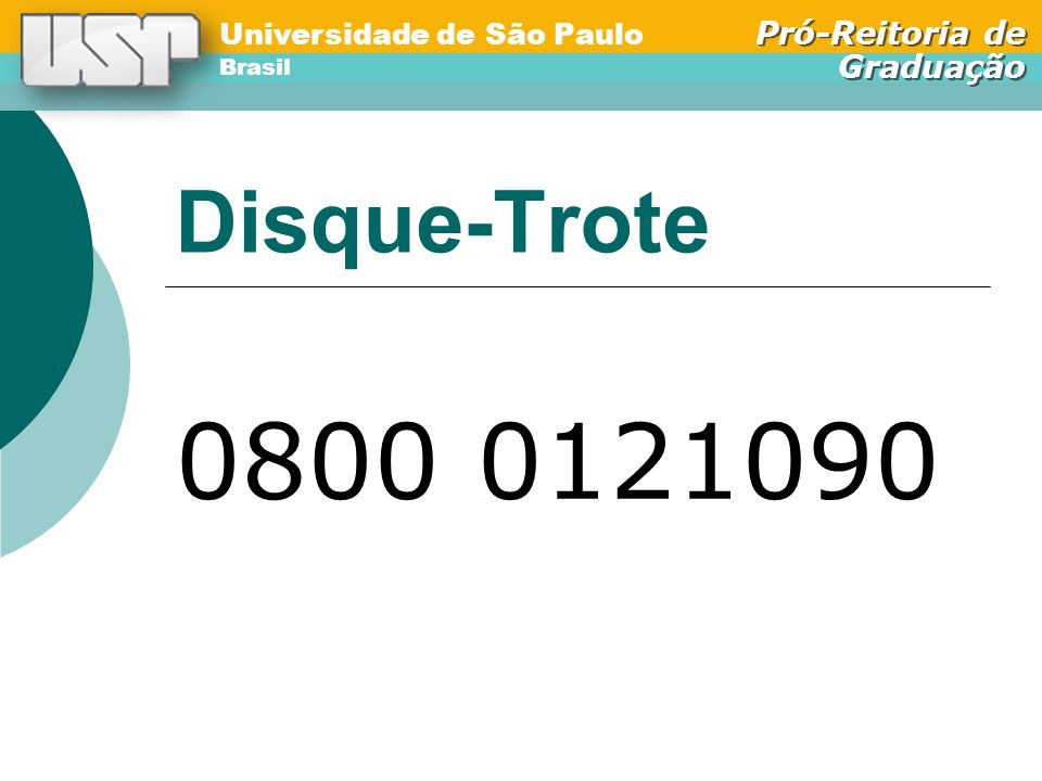 Disque-Trote 0800 0121090