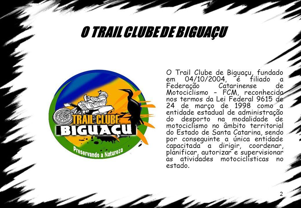 O TRAIL CLUBE DE BIGUAÇU