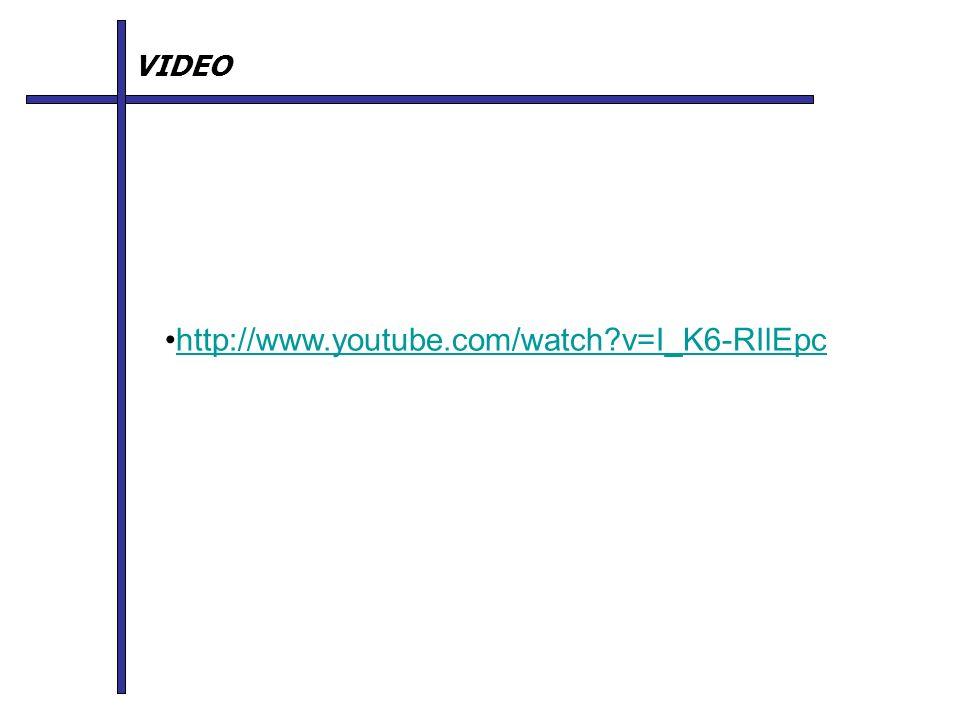 VIDEO http://www.youtube.com/watch v=I_K6-RIlEpc